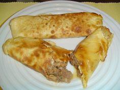 Αυγοκαλάμαρα με κιμά Recipies, Chicken, Meat, Ethnic Recipes, Food, Recipes, Essen, Meals, Yemek