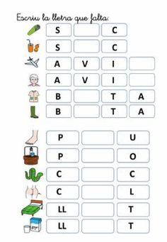 Catalan Language, Art For Kids, Letters, Education, Learning, School, Teaching Reading Strategies, Spanish Classroom Activities, Preschool Alphabet Activities