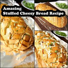 Amazing Stuffed Cheesy Bread Recipe Read HERE --- http://www ...