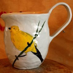 by Gemma Orkin Mugs And Jugs, Make You Smile, Africa, Birds, Sunshine, Artisan, Clay, Dining, Collection