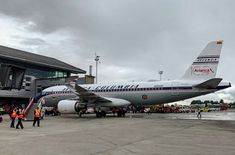 Ecuador, Airbus A320, Frankfurt, Retro, Aviation, Aircraft, Airplanes, Guatemala City, Civil Aviation