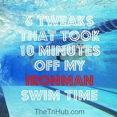 6 Tweaks That Took 10 Minutes Off My Ironman Swim Time
