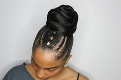 196 Likes, 12 Comments - Touch of Heaven by Markeita P ( on. 196 Likes, 12 Co Black Hair Updo Hairstyles, Weave Ponytail Hairstyles, Natural Afro Hairstyles, Ponytail Styles, Natural Hair Updo, My Hairstyle, Girl Hairstyles, Curly Hair Styles, Natural Hair Styles