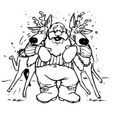 XMAS  I love these coloring pages of Santa - there are 4 here for you to click on and then print. The grab your crayons and color them in. Maybe print an extra coloring sheet for your friend, for your cousin, for someone in your class -or for your entire class. Enjoy, they're all free and printable - just click on the image  you  like best and it will open full size - then print.