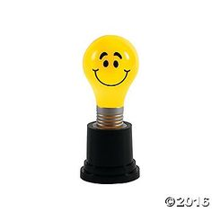 Light Bulb Award Trophies. A bright idea deserves a bright reward! Turn it on and watch it glow in red, green and blue colors. Plastic. 4 3/4 Batteries ...