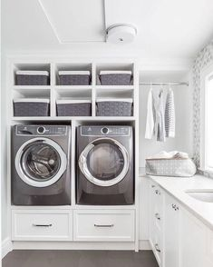 """Exceptional """"laundry room storage diy cabinets"""" info is available on our internet site. Read more and you wont be sorry you did Laundry Room Tile, Laundry Room Cabinets, Small Laundry Rooms, Laundry Room Organization, Laundry Room Storage, Laundry Room Design, Closet Storage, Storage Shelves, Storage Ideas"""