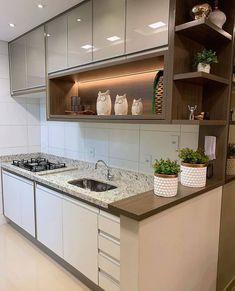 Kitchen Room Design, Kitchen Cabinet Design, Modern Kitchen Design, Home Decor Kitchen, Interior Design Kitchen, Diy Kitchen, Kitchen Furniture, Furniture Stores, Modern Kitchen Interiors