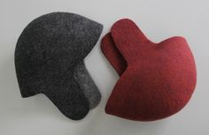 Solid felted hats. 100% wool. Handmade by artisans from Tumar Art Group. Design: Emil Tilekov.