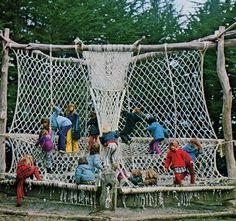 The Macrame Playground on the Bolinas Mesa, circa 1972
