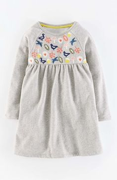 {Size 1.5-2} Mini Boden 'Cosy' Embroidered Dress (Toddler Girls, Little Girls & Big Girls) available at #Nordstrom