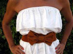 dress w/ bow