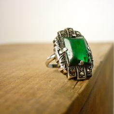 Edwardian Ring - Antique 1910s Ring. $150.00, via Etsy.