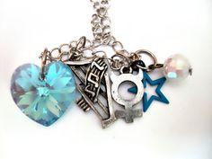 Sailor Mercury Aqua Rhapsody Necklace. $20.00, via Etsy.