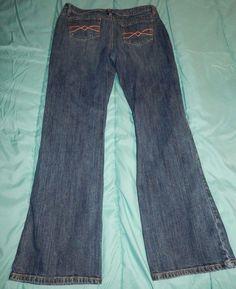 Cato Premium Jeans Size 14 stretchy  Measures 34X30 #Cato #StraightLeg
