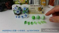 林孟祥的黏土花藝-小玫瑰花項鍊24分HD