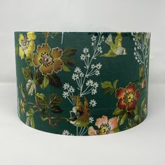 Excited to share the latest addition to my #etsy shop: Emerald Oasis Leighton Floral Velvet Lampshade British Standards, William Morris, Lamp Shades, Oasis, Diffuser, Emerald, Velvet, Drum, Bespoke