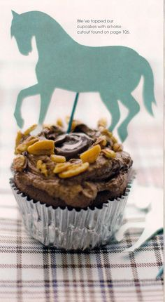 a Kentucky Derby Cupcake...