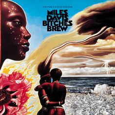 """Bitches Brew, Miles Davis - February 1969, Davis recorded In a Silent Way, a bold step into ambient funk and electric futurism that inspired the trumpeter to go further out at the sessions for Bitches Brew that August. Davis wanted, he said, """"the best damn rock & roll band in the world,"""" to connect jazz with the forward motion of Jimi Hendrix and Sly Stone. Davis' band was superbad (Joe Zawinul, John McLaughlin, Chick Corea, Wayne Shorter, etc.)."""