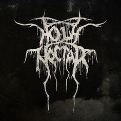 Holy Nectar - Black // Death Metal logos by Alice Bramucci, via Behance