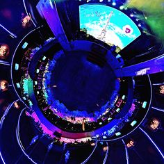 Панорама съемочной площадки.