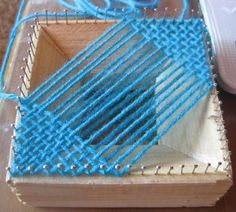 Hand Weaving Instruction | small hand weaving loom well over a year ago, looked up instructions ...