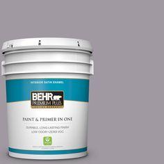 BEHR Premium Plus 5-gal. #N570-3 Art Nouveau Glass Satin Enamel Interior Paint