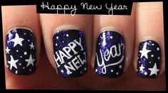happy new year 2016 nail designs - Google Search