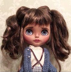 """""""Juniper""""                                        Custom Blythe Doll by LoveLaurie"""