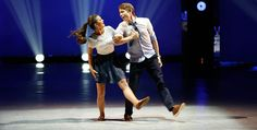 Jacque LeWarne and Zack Everhart perform a Hip Hop routine choreographed by Keone and Mari Madrid.