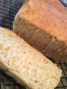 Hives in the Kitchen: Allergy Free Honey Oat Bread (uses my flour blend + oats)