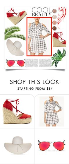 """Bez naslova #1"" by lili-876 ❤ liked on Polyvore featuring Vince Camuto, Material Girl, Nine West, Ray-Ban and Terre Mère"