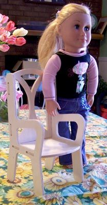 "Doll Chairs and Furniture for 18"" Dolls"