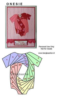 Baby Onesie Iris Fold                                                                                                                                                                                 More