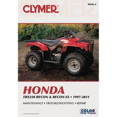 Clymer Honda ATC250 /& Fourtrax 200-250 1984-1987