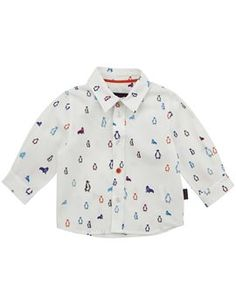 Paul Smith Junior Blue Spaceman and Alien Print Shirt Navy Chinos, Sports Shirts, Paul Smith, Penguins, Printed Shirts, Baby Boy, Shirt Dress, Sweatshirts, Boys
