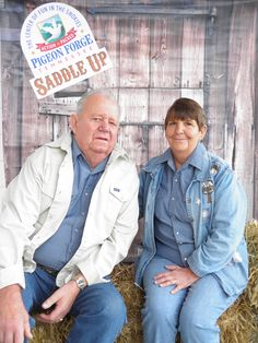 Rengering family at 13th Annual Saddle Up! in Pigeon Forge