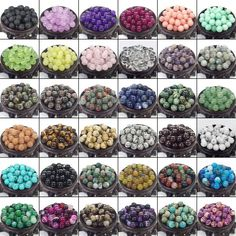 Jewelry & Accessories Natural Stone Multicolor Agates Round Beads For Jewelry Making 4 6 8 10 12mm Spacer Beads Diy Necklace Bracelet Wholesale Neither Too Hard Nor Too Soft