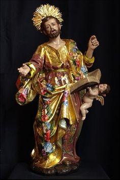 NOTICIAS... PEREZ ROJAS Religious Images, Religious Icons, Religious Art, Verge, Catholic Pictures, Colonial Art, Jesus Christ Images, Art Thou, Sculpture Art