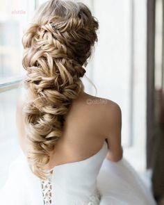 ❤️ Wedding hair and makeup at @elstile | свадебная прическа и макияж в @elstile #elstile #эльстиль…