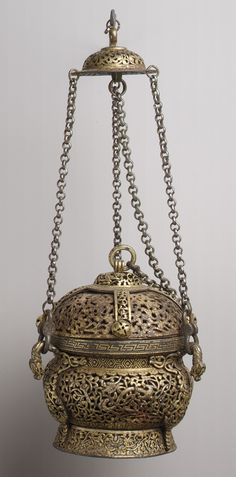 Ritual Censer, century Tibet Iron with gold inlay (Censers are any type of vessels made for burning incense. Vases, Lotus Design, Buddhist Art, Ancient Artifacts, Metropolitan Museum, Islamic Art, Asian Art, Art History, Metal Working