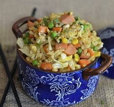Pork Sausage Brown Fried Rice | Farmer John