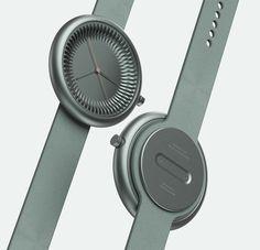 LINE watch on Behance Smartwatch, Icon Design, Design Trends, Radial Pattern, Elegant Watches, Sound Design, Minimal Design, Design Crafts, Watches For Men