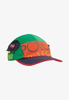 Polo Ralph Lauren HI TECH PANEL CAP - Cap - bittersweet green - Zalando. 2f7233f9bcfb