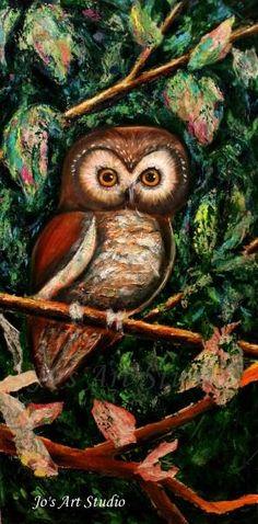 owl by Joanne Abbott (work in progress)