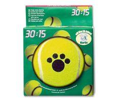 Aus der Kategorie Bälle  gibt es, zum Preis von EUR 13,99  Tennisspielzeug - ein beliebtes Spielzeug bei allen Hunden. Gut geeignet zum Werfen, zum Apportieren und für Zerrspiele. Erhältlich in verschiedenen Formen, wie Knochen, Boomerang, Stick oder Ball mit Seil.  Mit den Tennisballartikeln 30 : 15 ist Spiel und Spaß angesagt. Ein stundenlanges Spielvergnügen ist mit diesem klassischen Spielzeug garantiert. Die Tennisballartikel mit Pfötchenaufdruck sind erhältlich in verschiedenen Größen…