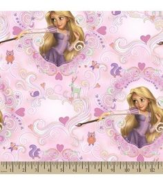 Disney® Princess Print Fabric-Rapunzel