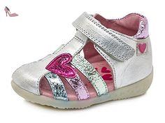 Agatha Ruiz de la Prada Bahiacl, Sandales Bébé Fille, Argent (Plata), 24 EU - Chaussures agatha ruiz de la prada (*Partner-Link)