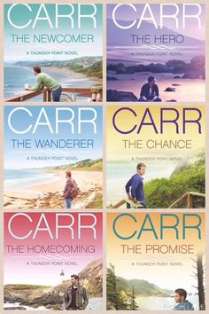 Thunder point series by Robyn Carr. I highly recommend this series. As good as her Virgin River series.