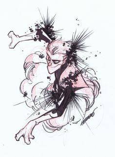 Nightcrawler Comic Art