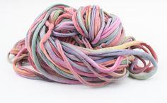 This gorgeous pima cotton yarn is coming soon #vegan #knitting #yarn